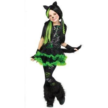 Disfraz de gato monstruo monster para ni as envio - Disfraces de gatitas para nina ...