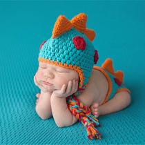 Trajesito Dinosaurio Unisex Bebe Recién Nacido