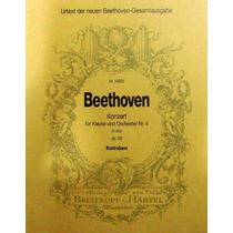 Partitura Beethoven Orchestra No.4 Em Sol Maior Contra Baixo