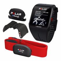 Reloj Polar V800 Edicion Con Montura Y Cadencia Banda Roja