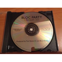 Bloc Party Banquet Cd Promo