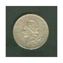 Moneda 50 Ctvos Patacón 1883 Mb Plata ¡ No Te La Pierdas !