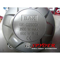 Super Driver Corneta Bak Bk-2500x Identico O Selenium