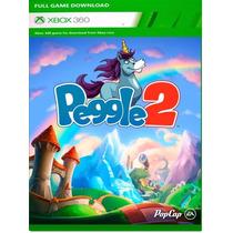 Jogo Peaggle 2 Xbox360 Mais Barato Do Mercado Livre!