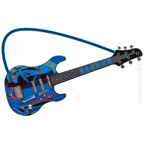 Guitarra Hot Wheels Luxo Infantil Musical Fun