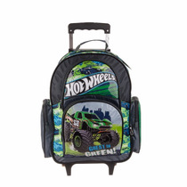 Mochila Con Carro Hot Wheels *original* 09.28752
