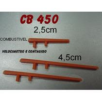 Ponteiro Velocímetro Conta Giro E Combustível Cb-450