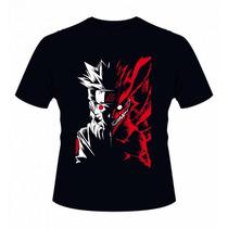Camiseta Naruto - Camisa Anime, Uchiha,sasuke