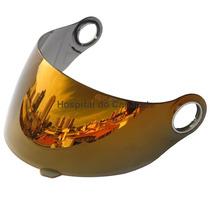 Viseira Shark S500 / S500 Air / Rsf2 Espelhado Amarelo