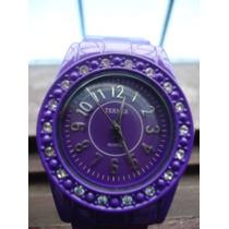 Relógio Terner Bijoux Original Com Strass