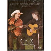 Dvd Chitãozinho & Xororó - Grandes Clássicos Sertanejo- Novo