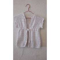 Chaleco Crochet Nena