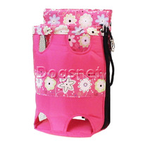 Mochila Canguru Cachorro - Bolsa Transporte Cães - P - Rosa