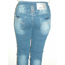 Calça Jeans Skinny Sawary Sabrina Sato, Estrass Lycra Tam 42