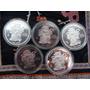 Colección Fusion De 2 Culturas, Son 5 Monedas Cada Una De 2