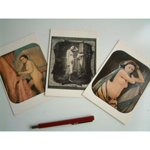 Cartões Postais Mulheres Nuas - Reprodução De Fotos Antigas