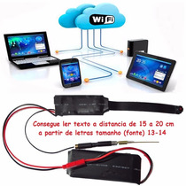 Micro Camera Ip Espia Wifi Hd Com 32gb Sd
