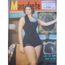 Revista Manchete - Miss Brasil 1956 - Lêda Brandão