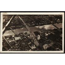 Cartão Postal Antigo Recife Pe Vista Aerea 1948