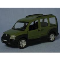 Carros Brasileiros Fiat Doblo Adventure Verde Made China.