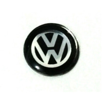 1 Logo Da Chave Canivete Da Volkswagen Vw 11mm Fox Gol G6