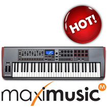 Novation Impulse 61 Tipo Axiom Air Melhor Q Launchkey Oxygen