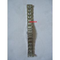 Pulseira Aço Relógio Tissot 19mm Prs516 T91.1.486.31