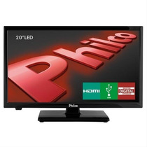 Tv Led 20 Hd Philco Ph20u21d Com Receptor Digital, Entradas