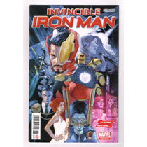 Invincible Iron Man # 6 All New All Different- Pv- Televisa