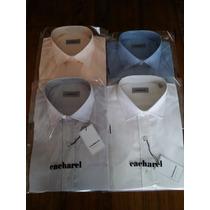 Camisas Vestir Cacharel- Lisas-pack X4 $1599