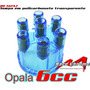 Cabo De Velas 10.0mm + Tampa De Distribuidor Opala 6cc 4.1
