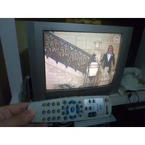 Televisão Gradiente 29 Polegadas Com Defeito Com Controle