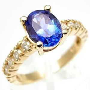 a34ed879b4c65 Extravasarjoias Anel Ouro Amarelo Pedra Tanzanita!! - R  3.232,92 em  Mercado Livre