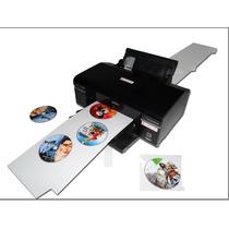 Vídeo Tutorial - Epson T50 / R290 / L800 Para Imprimir 9 Dvd
