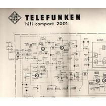* Copia Manual - Esquemario Hi Fi Compact 2001 Telefunken