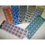 Times De Futelol Kit Adesivo Stickers C/ 30 Cartelas Autocol