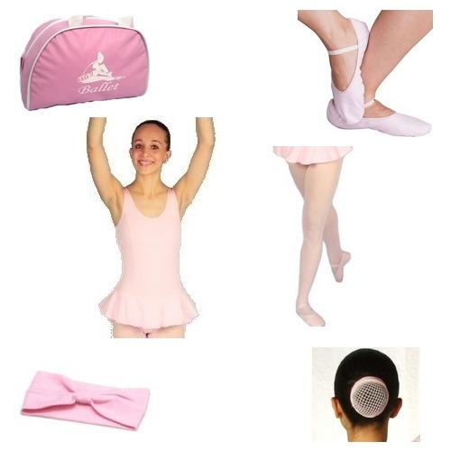 a7241d276c Rosa Kit Ballet 6 Peças (sapatilha
