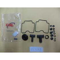 Kit Reparo Carburador Suzuki Gs500(01-09)(21peças-2 Carb)
