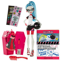 Muñeca Ghoulia Yelps Physical Deaducation 2011 Monster High