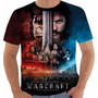 Camiseta Ou Babylook Filme World Warcraft Wow Filme Color