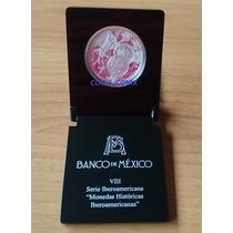 Moneda Peso Caballito Serie Iberoamericana Vlll Banxico 2010
