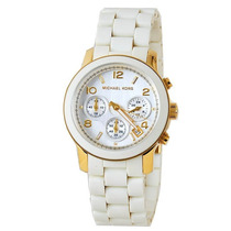 Relógio Luxo Michael Kors Mk5145 Orig Chron & Anal!