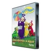Dvd Teletubbies - Descobrindo A Água