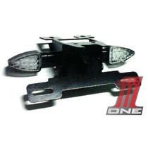 Kit Eliminador De Rabeta Com Piscas E Luz Placa Moto Hornet