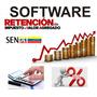 Sistema Software Retenciones De Iva Contribuyente Especial