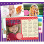 15 Foto Iman Souvenirs Calendario Personalizado 12x18cm