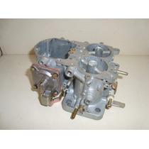 Corpo Com Base Carburador Solex Duplo Opala Gasolina 34seie