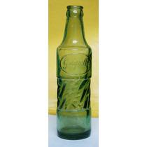 Garrafas Antigas - Grapette Perfeita Vidro Verde