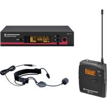 Sistema Sem Fio Sennheiser Headset De Cabeça - Ew152 G3