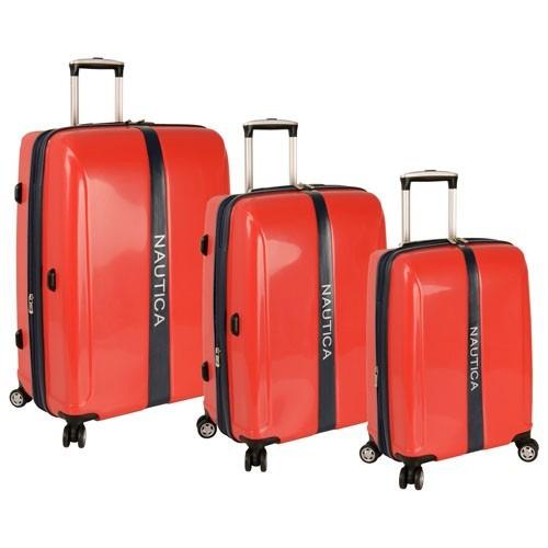 Nautica landfall set 3 maletas de viaje kit maleta viajar - Maletas platinium ...